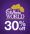 30% off admission at Cadbury World