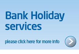 Spring Bank Holiday services