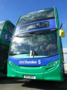Dundee service 5 hybrid to Broughty Ferry