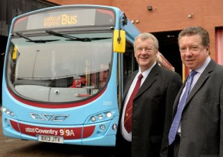 Centro chairman welcomes new fleet of 33 national express for Coventry federal plans