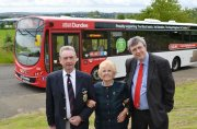 Launch of Black Watch bus June 2014
