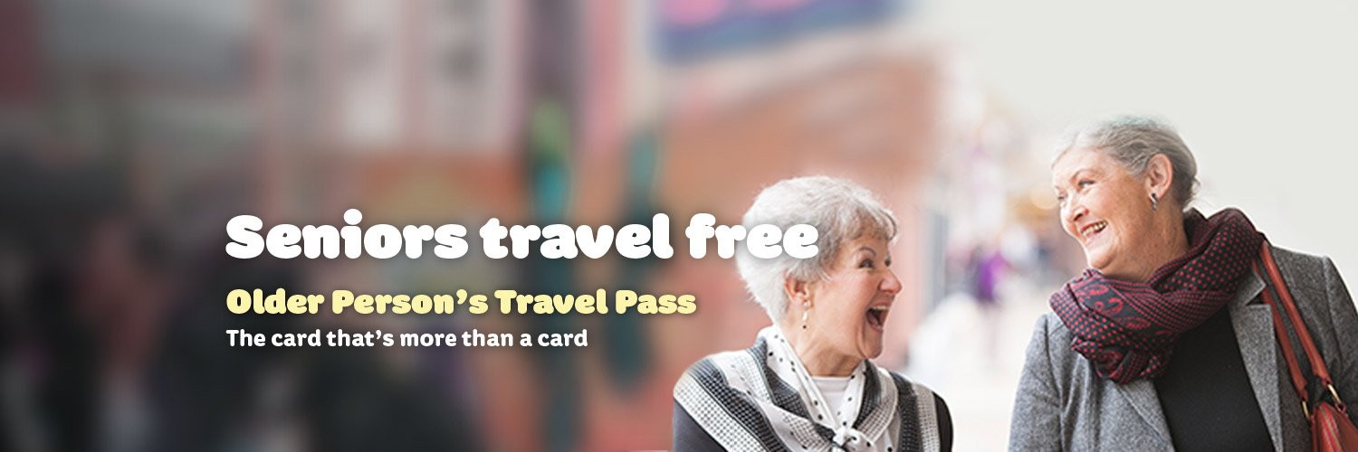 Seniors Travel Free
