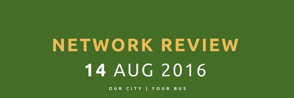 Network Review - August 2016