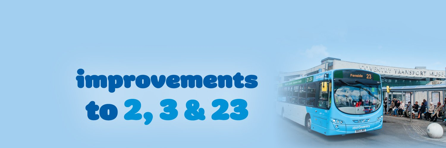 Improvements to 2, 3 & 23 services from Sunday 23rd October