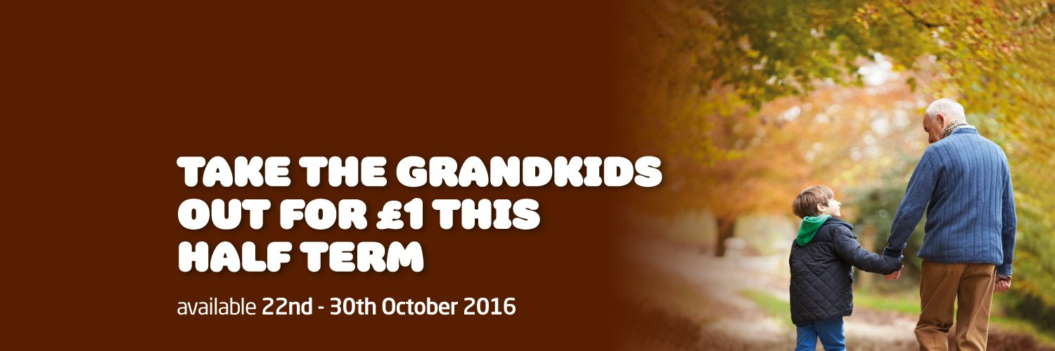 Grandkids for £1 this October Half Term