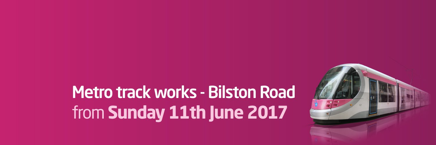 Metro Track Work, Bilston Road from Sunday 11th June