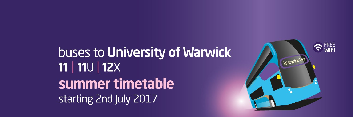 Buses to & from University of Warwick