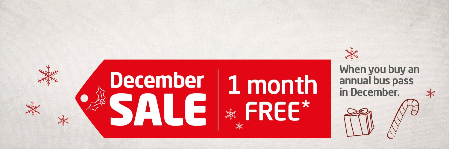 December Sale - One Month Free