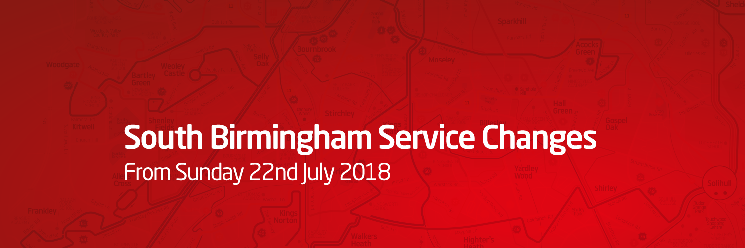South Birmingham - Service Changes