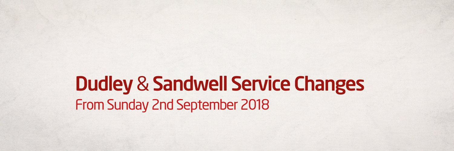 Dudley & Sandwell Service Changes
