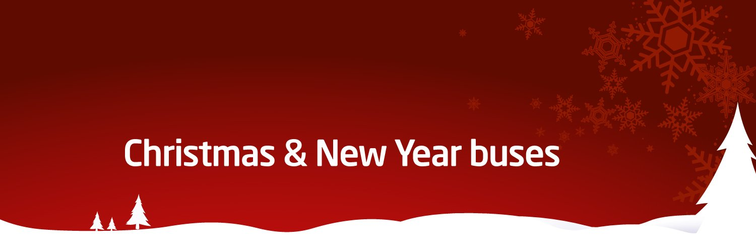 West Midlands Christmas & New Year Buses