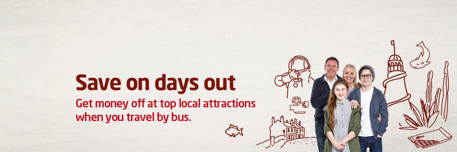 Save on days out with National Express bus