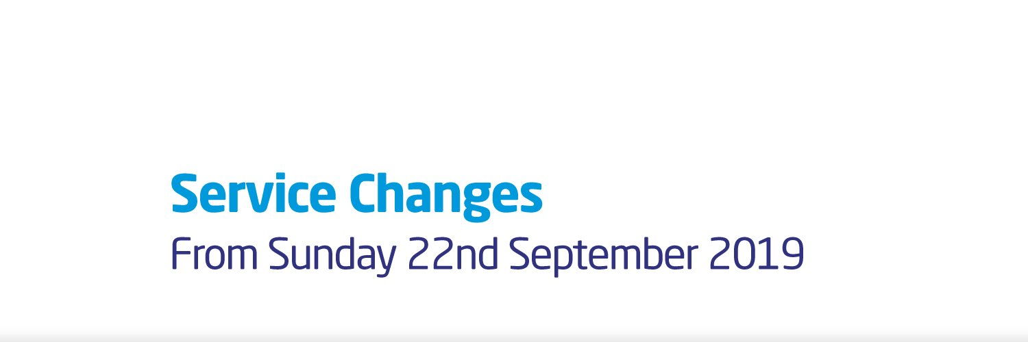 Coventry Service Changes from 22nd September 2019