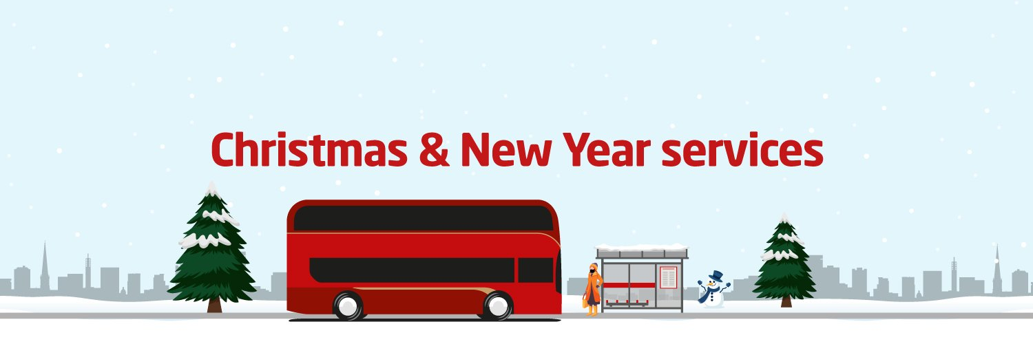 Christmas and New Year bus services